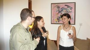 Домакинът на партито и основател на проекта - Дениз Герганова